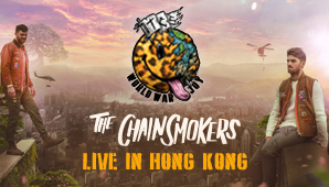 The Chainsmokers World War Joy Live in Hong Kong