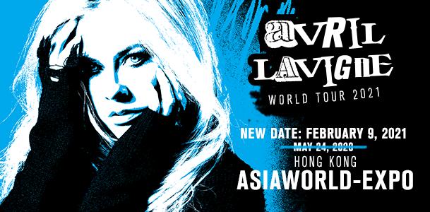 Hk Ticketing Avril Lavigne World Tour 2021 Hong Kong